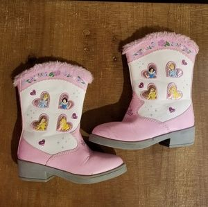 Disney Lightup Boots Size 8 Toddler Cowboy